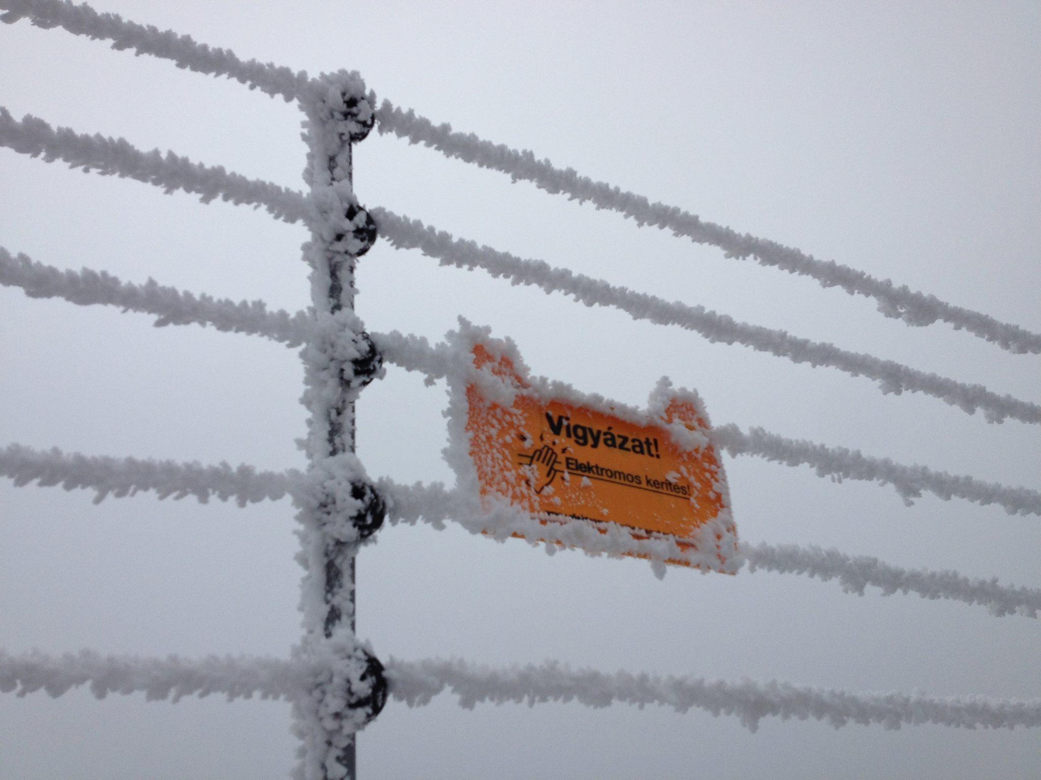Extrém időjárás esetén is hatákony az elektromos kerítés