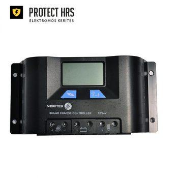 Szolár szabályzó 15A  12V 24V-LCD